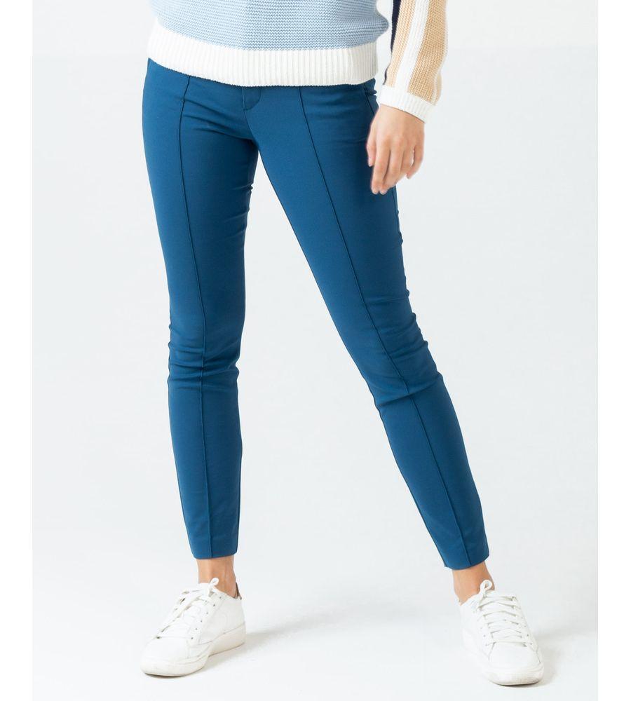 Pantalon Skinny Con Charreteras Pantalones Naf Naf Nafnaf